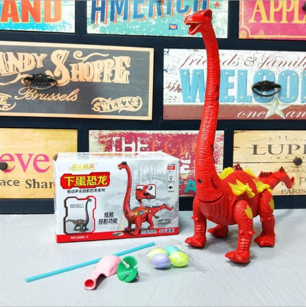 LED Dinosaur - LED Light - Walking Dinosaur Toy