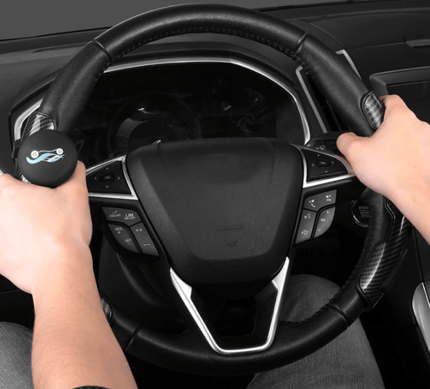 Car Steering Wheel Power Handle with Knob Easy Turn