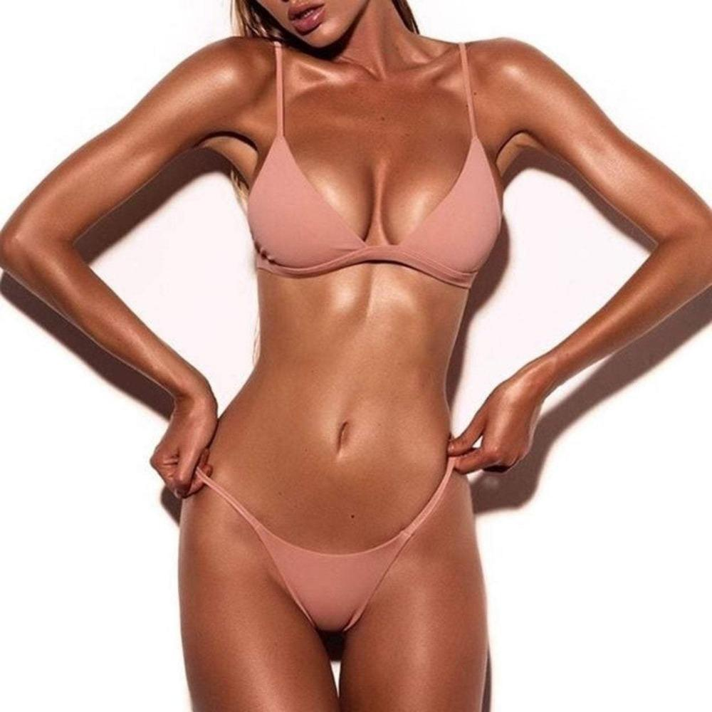 Women Swimsuit  two piece bikini  triangle bikini set  swimsuit  swim suits  summer  Sexy Bikini Push Up Bikini Set  High Cut Swimwear  clothing  cheeky brazilian bikini  brazilian swimwear  brazilian cut bikini  brazilian cut bathing suits  brazilian bikini swimwear  brazilian bikini shop  brazilian bikini  brazilian beachwear