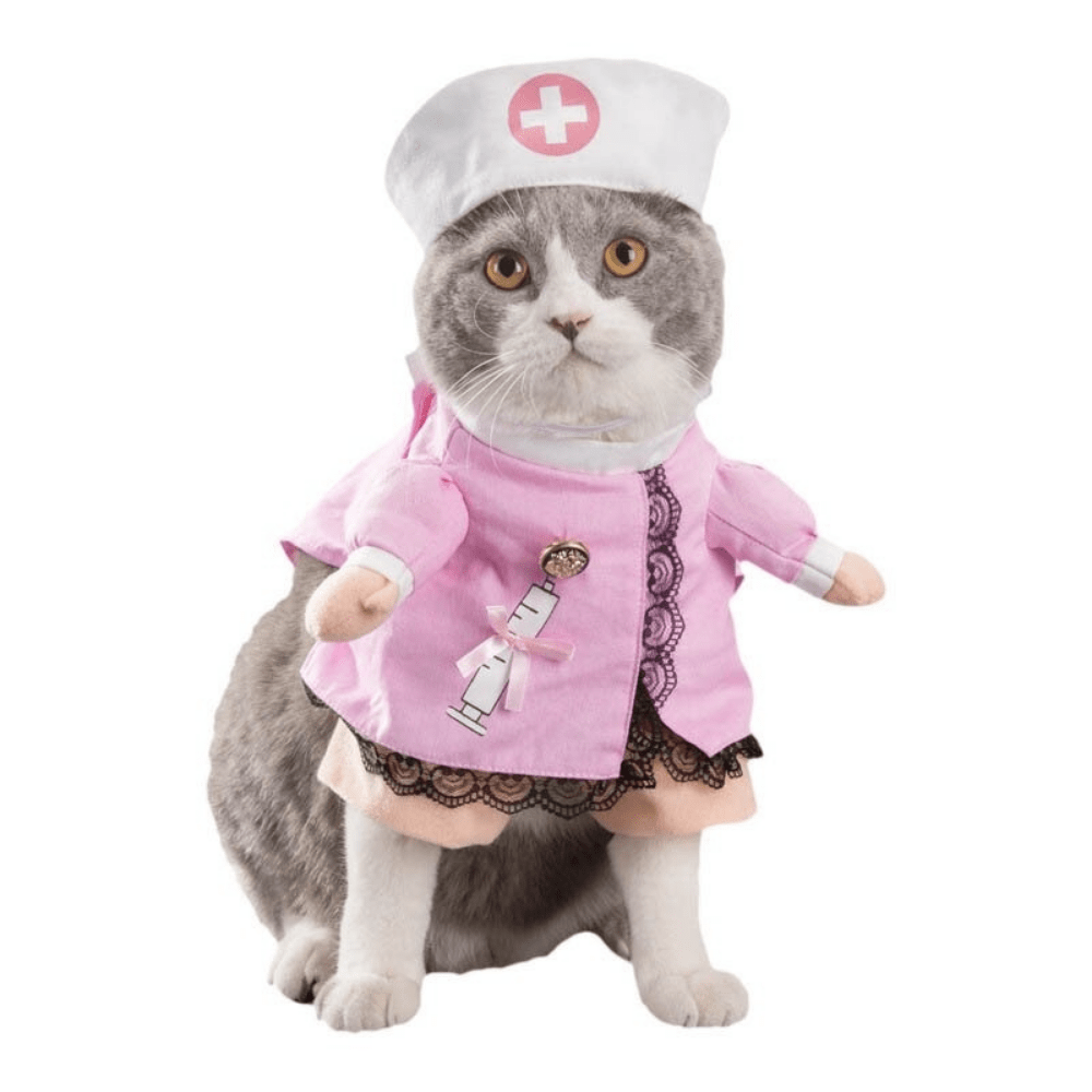 Funny Jacket Suit Clothes Costume For Cats