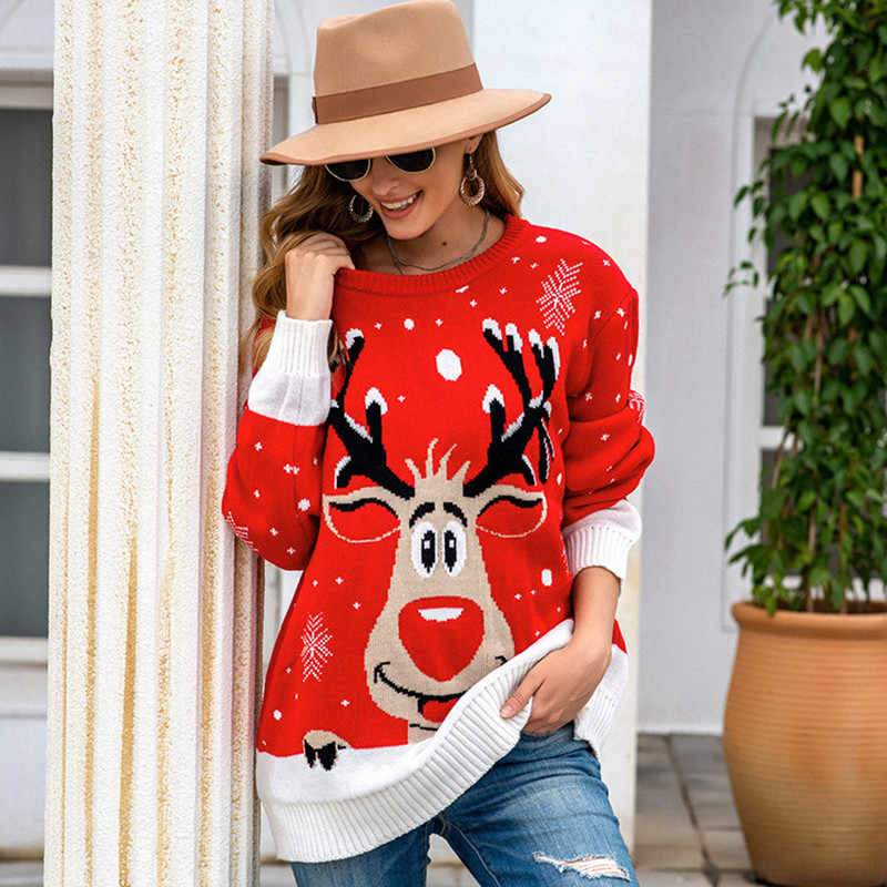 womens reindeer sweater  ugly sweater  ugly christmas sweater  reindeer sweaters  reindeer christmas sweather  long sleeved sweater 2020  long sleeved sweater  Jumper reindeer Sweaters  jacquard sweater  good christmas gifts for girlfriend  gift ideas for her  fawn jacquard sweater  cute reindeer sweater womens reindeer sweater  ugly sweater  ugly christmas sweater  reindeer sweaters  reindeer christmas sweather  long sleeved sweater 2020  long sleeved sweater