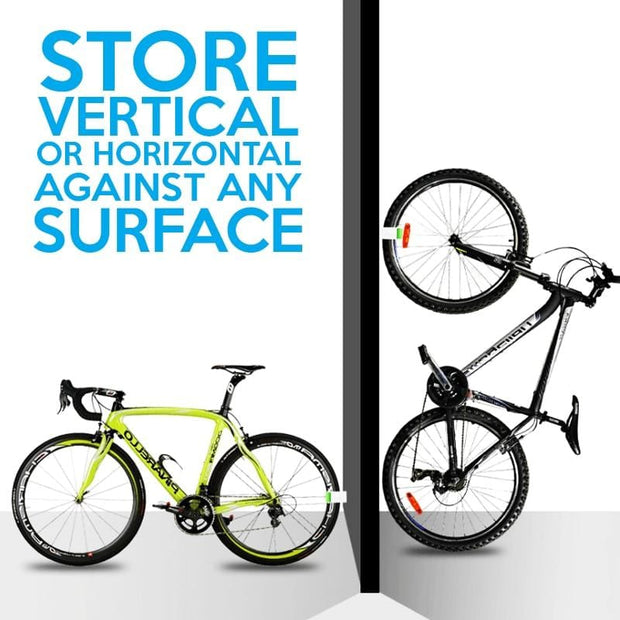 Minimalist Bicycle Buckle Clip Holder Vertical Display Storage , bike storage clip, wall mount hook