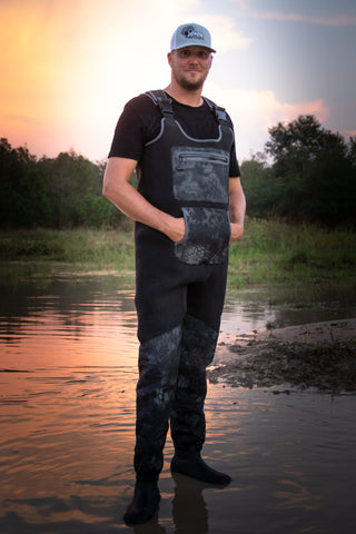 Waders - Mens Charcoal Waders