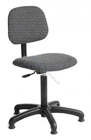 B2 5 legged Machinist  chair charcoal grey price is £82.00 +Vat