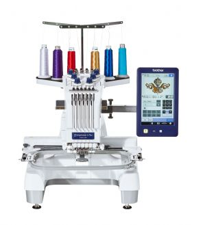 Brother PR670E 6 Needle Embroidery Machine 0% Finance Available