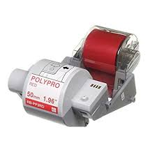 RBPP3RD Tape Ink cassette 50mm Red
