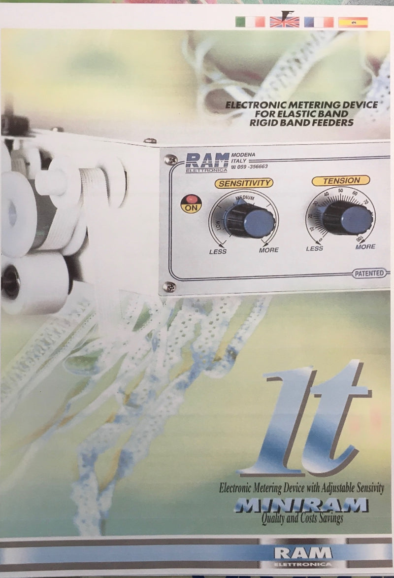 Ram Miniram 1T single tension elastic meter unit