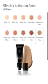 Glowing hydrating foundation