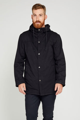 One Man Coast Waterproof Hoodie - Black