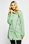 Houston Trending Rain Jacket Micro Fleece Interior - Mint