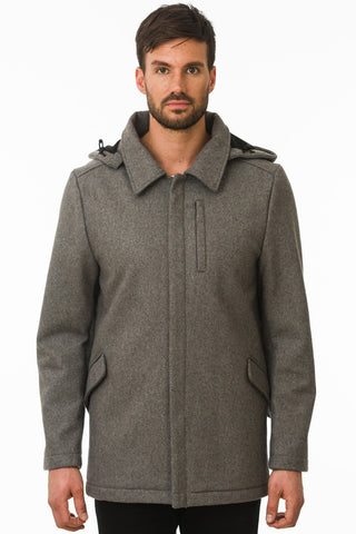 OMO PROVIDER WEATHERPROOF WOOL COAT