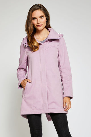 Stella Modern Rain Jacket Micro Fleece Interior - Blush