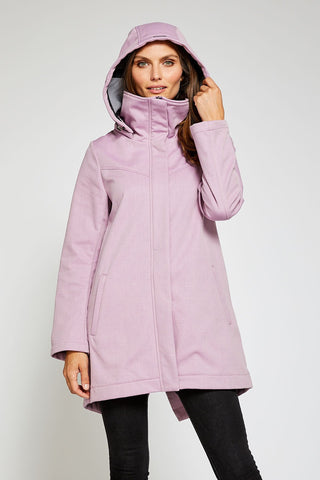 Stella Modern Light Weight Rain Shell - Blush