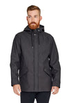 One Man Voyager Rain Jacket - Black Size XL