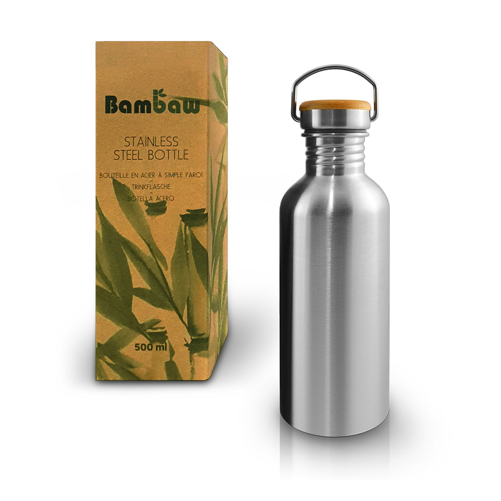 Bambaw Insulated 500ml Steel Bottle