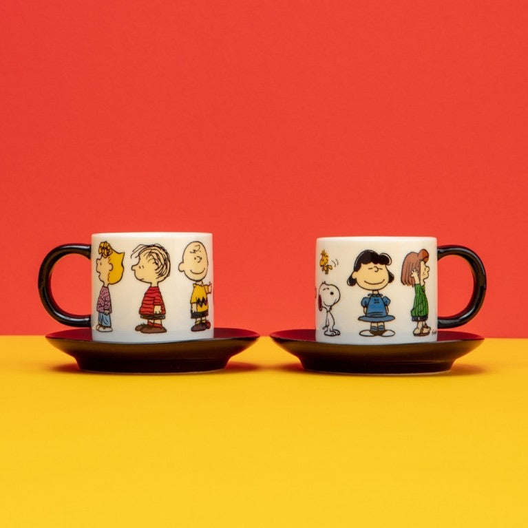 Magpie + Peanuts Snoopy Espresso Set Of 2 - Gang