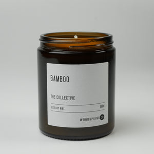 Woodspring Co Bamboo Candle