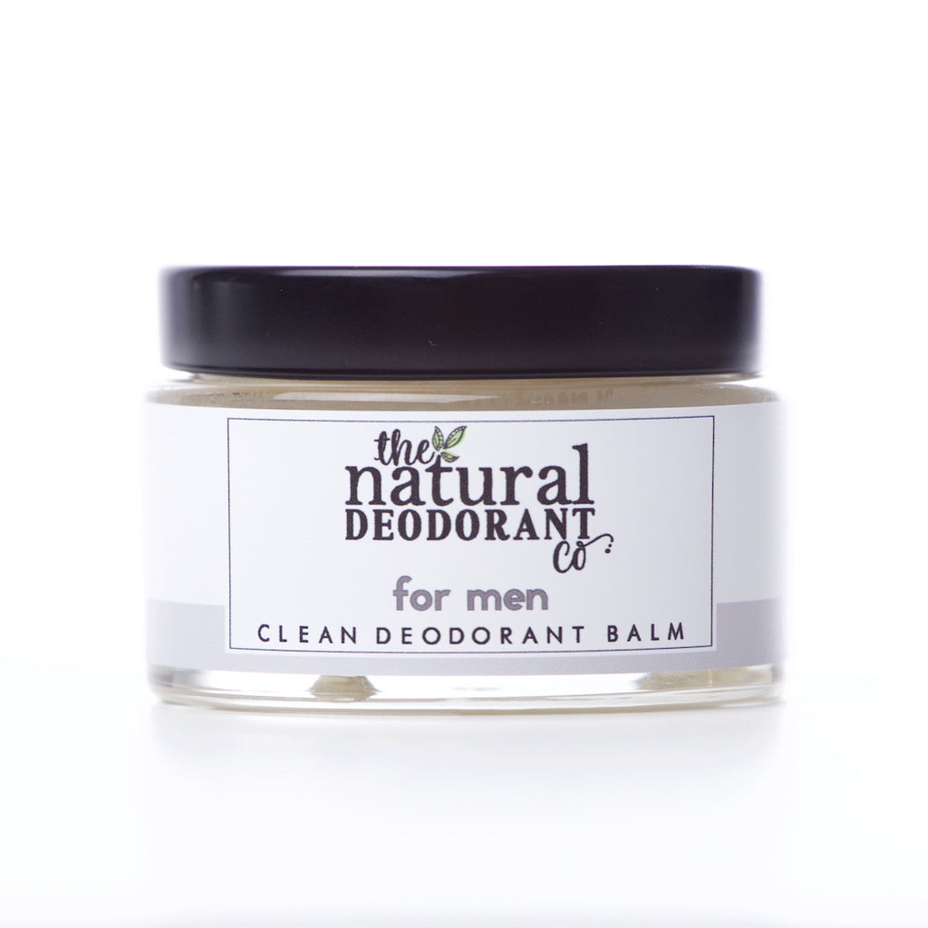 The Natural Deodorant Co Clean Deodorant Balm For Men
