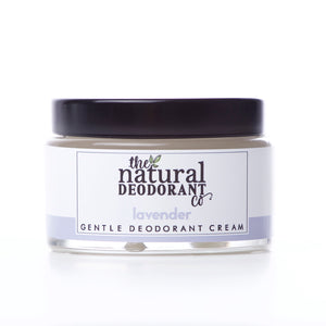 The Natural Deodorant Co Gentle Deodorant Cream Lavender