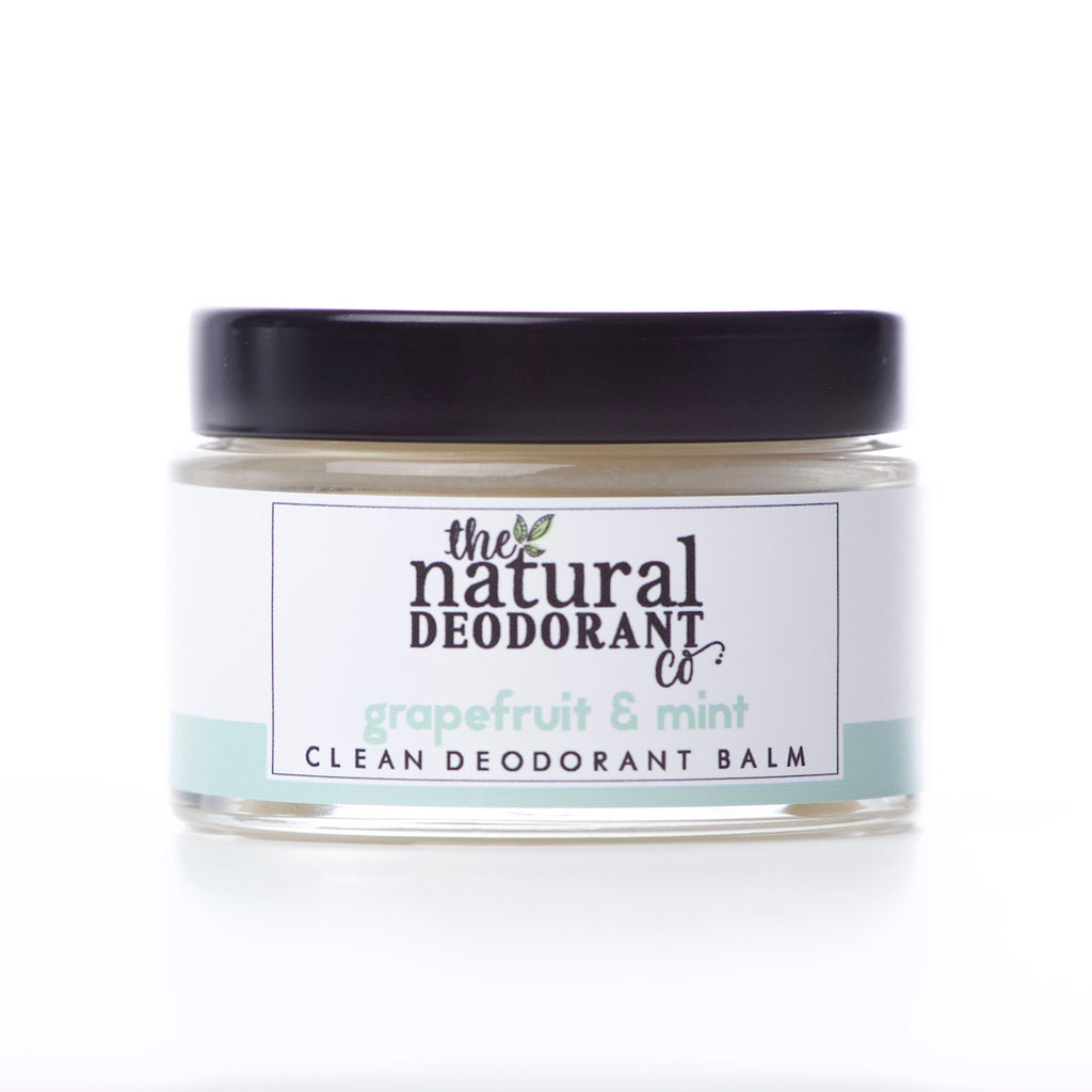 The Natural Deodorant Co Clean Deodorant Balm Grapefruit & Mint