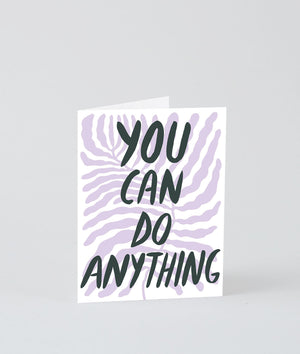 Wrap You Can Do Anything Card