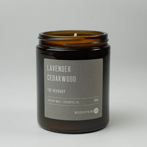 Woodspring Co Lavender & Cedarwood Candle