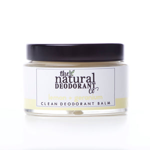 The Natural Deodorant Co Clean Deodorant Balm Lemon & Geranium