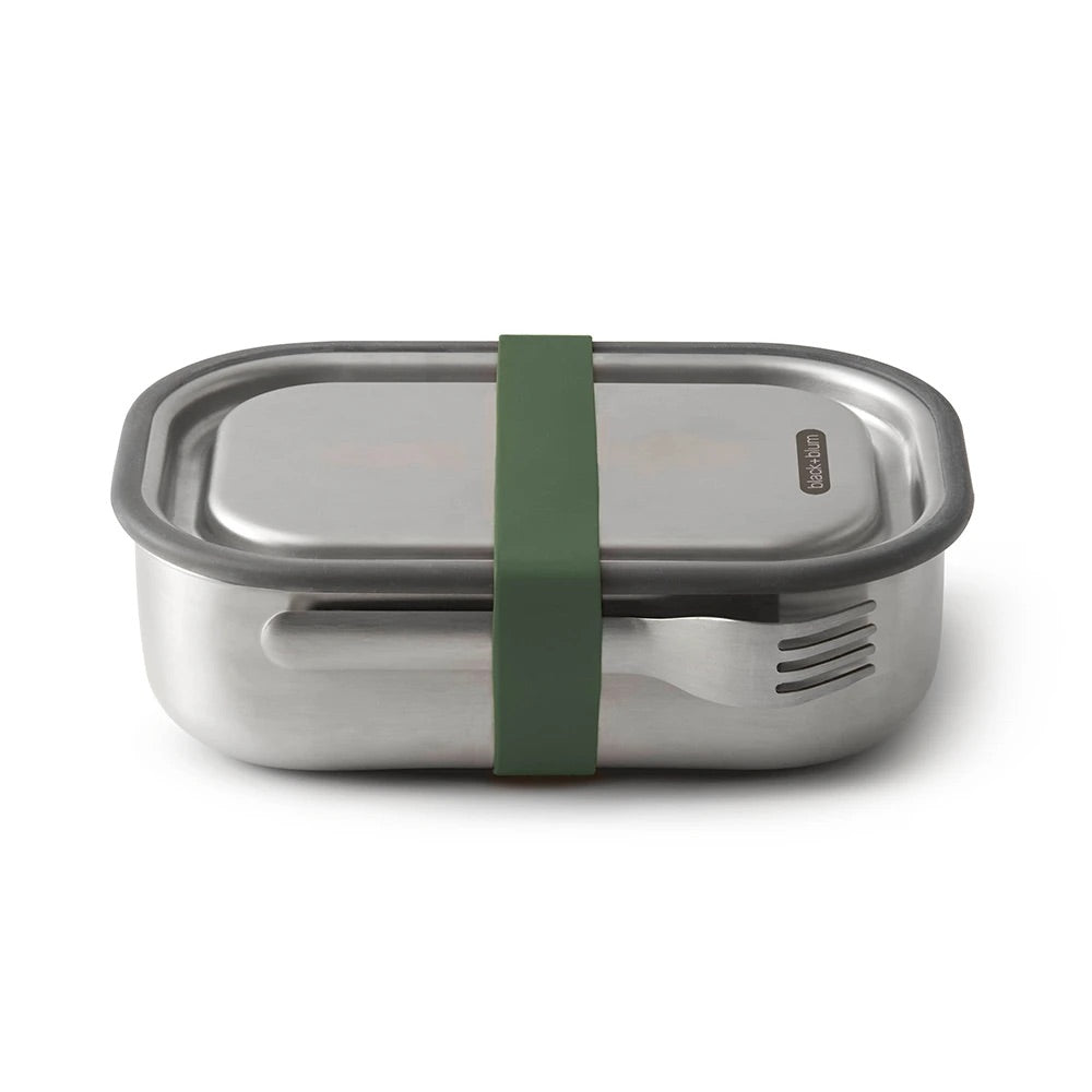 Black + Blum Stainless Steel Box Large Olive
