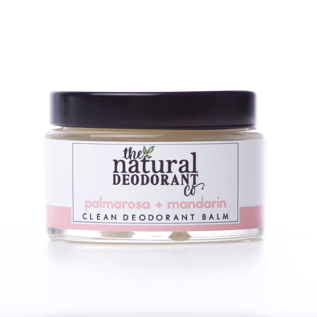 The Natural Deodorant Co Clean Deodorant Balm Palmarosa & Mandarin