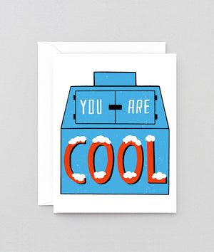 Wrap You Are Cool Card