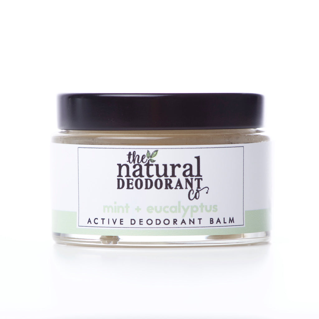 The Natural Deodorant Co Active Deodorant Balm Mint & Eucalyptus