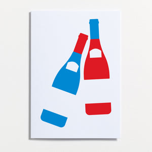 Crispin Finn Wine Lovers Greeting Card