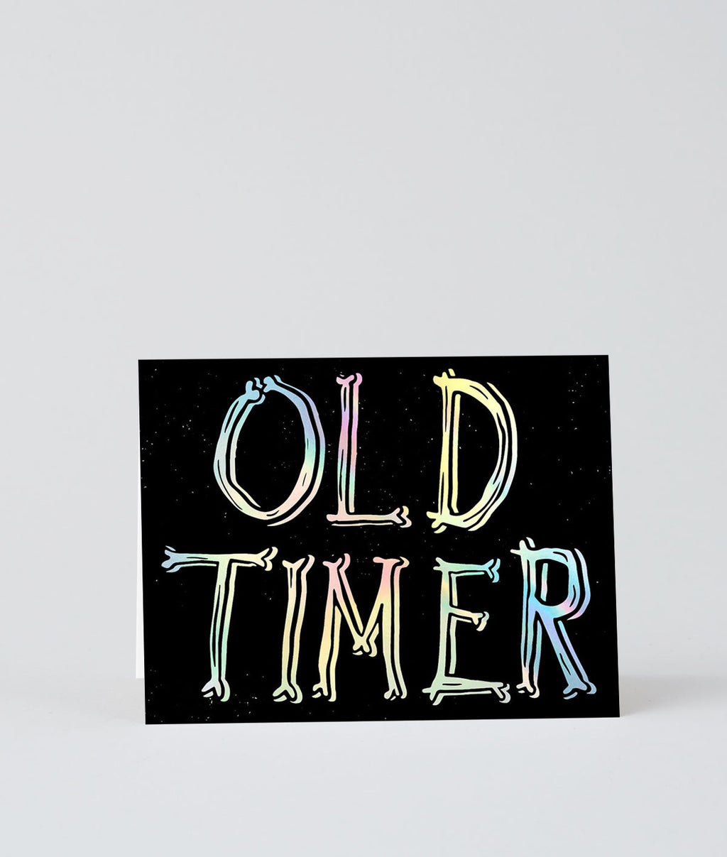 Wrap Old Timer Card