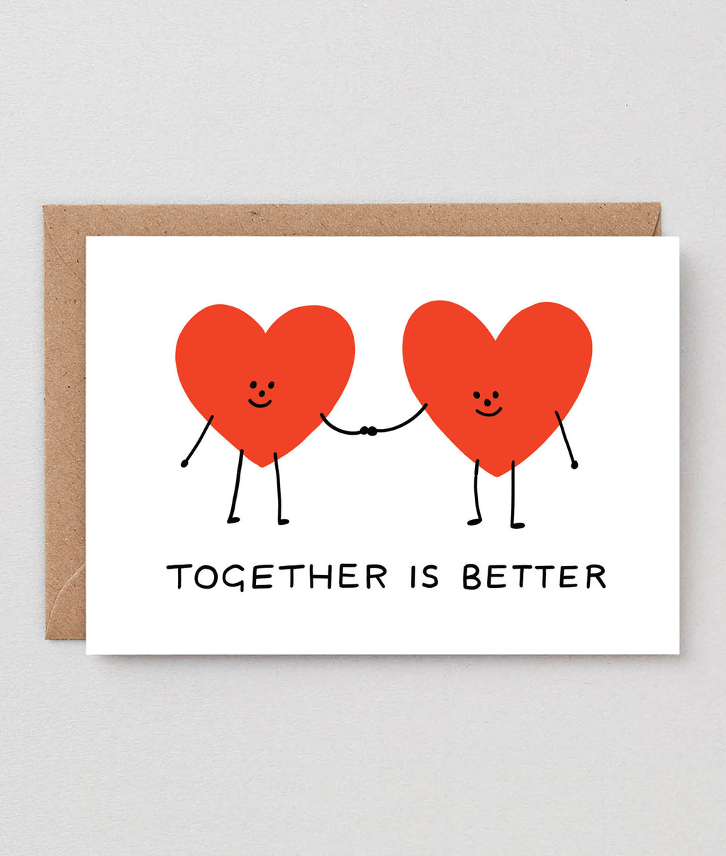Wrap Together Is Better Card