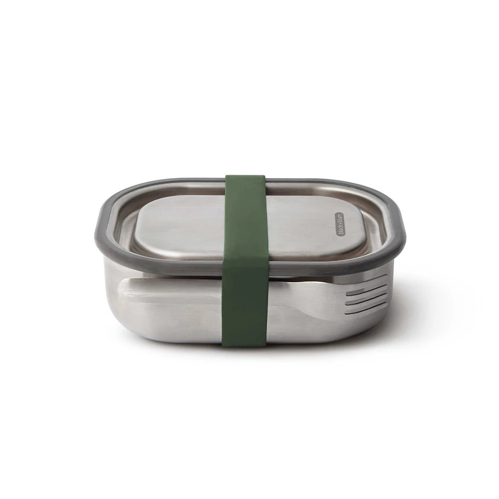 Black + Blum Stainless Steel Box Small Olive
