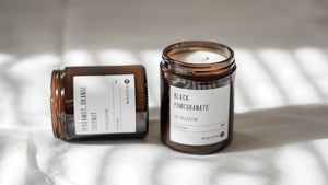 Woodspring Co Black Pomegranate Candle