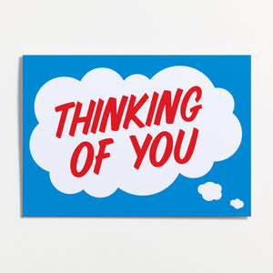 Crispin Finn Thinking of You Greeting Card