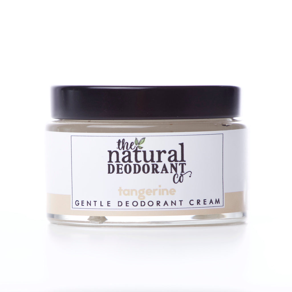 The Natural Deodorant Co Gentle Deodorant Cream Tangerine
