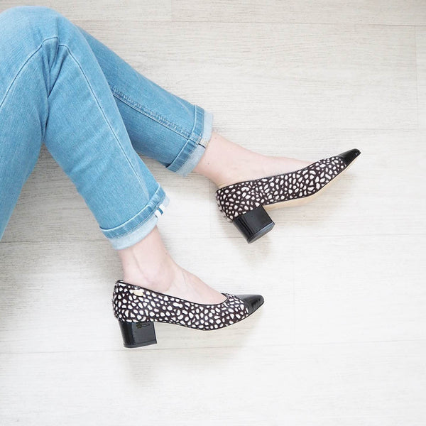 Matilda Monochrome Midi Heel - SOLD OUT