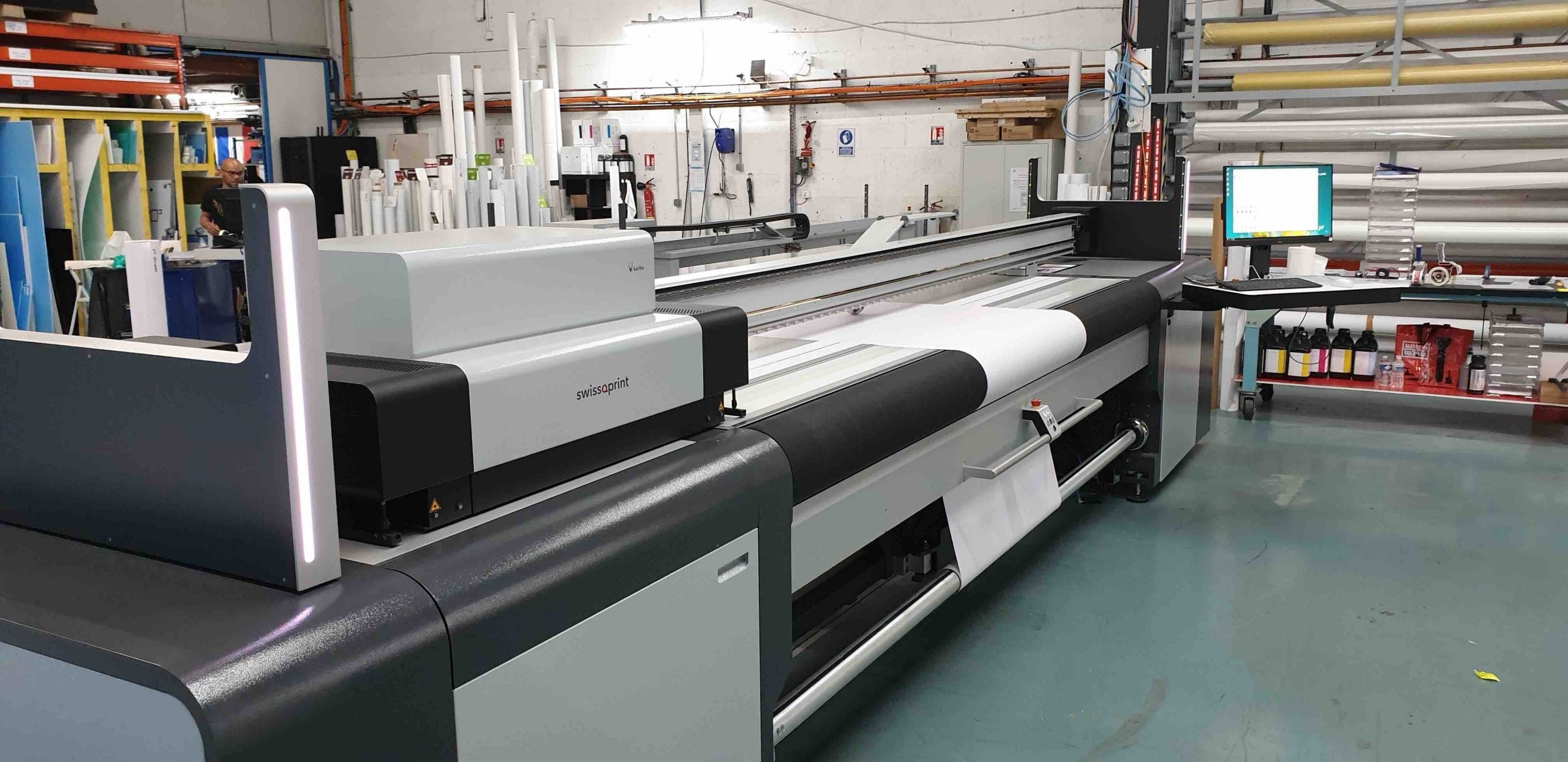 Imprimante roll-to-roll swissQprint Karibu
