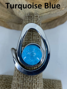Open Teardrop Ring