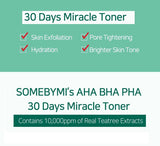 SOME BY MI - AHA, BHA, PHA 30 Days Miracle Toner now available at www.timeless-uk.com. Why not check it out for more details!