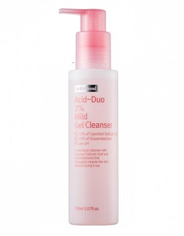 Acid-duo 2% Mild Gel Cleanser By Wishtrend - 150ml