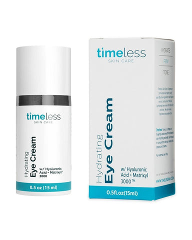 Timeless Skin Care - Hydrating Hyaluronic Acid Eye Cream 0.5 oz / 15ml