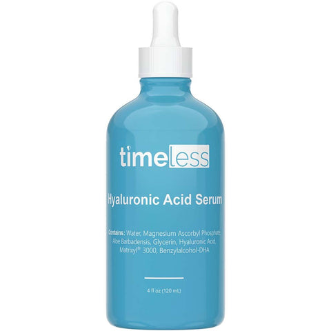 Timeless Skin Care - Hyaluronic Acid Vitamin C with Matrixyl 3000 Serum Refill 4oz / 120ml