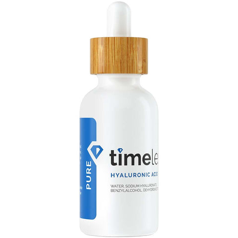 Timeless Skin Care Hyaluronic Acid 100% Pure Serum is available at Timeless UK. Visit us at www.timeless-uk.com for product details and our latest offers!