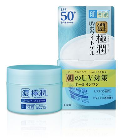 Hada Labo Extreme UV White Gel SPF 50 + / PA ++++ is now available at Timeless UK. Visit us at www.timeless-uk.com for product details and our latest offers!