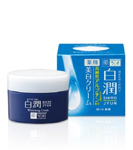 HADA LABO Shiro-Jyun Whitening Cream with Arbutin - 50g