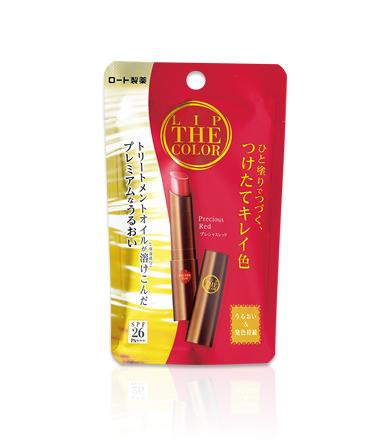 < NEW ARRIVAL > Rohto The Lip Color SPF26 PA+++ In Precious Red - 2g