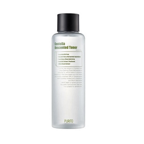 PURITO Centella Unscented Toner is now available at www.Barefection.com. Visit us for product details and our latest offers!
